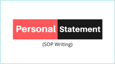 Personal Statement - Statement of Purpose (SOP) template