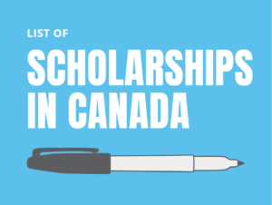 List of Scholarships in Canada