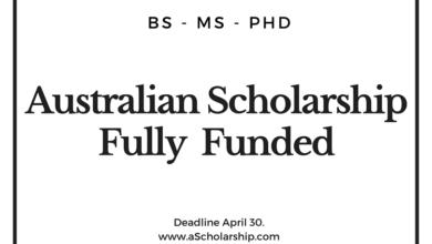 Australian Awards Scholarship (AAS Scholarship) 2020-2021