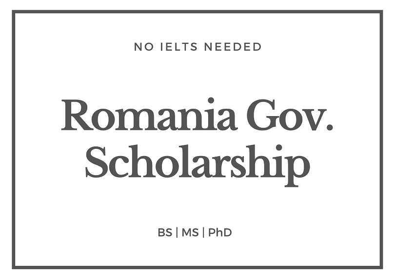 Romania Government Scholarship 2020-2021 for international students