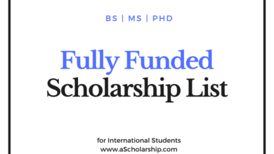 Top 5 Fully Funded Scholarships for International Students