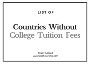 6 Countries with Free College Tuition - Countries without Tuition Fee for College Studies