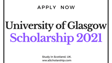 University of Glasgow Scholarship for international Students - Get Funding of £5,000
