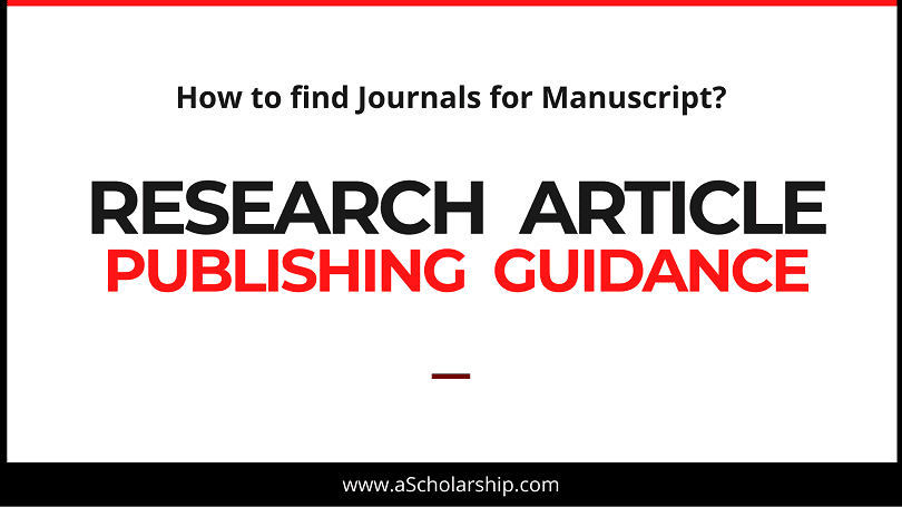5 Steps to Publish First Research Article Manuscript in Journal How to Publish Research Paper in Academic Journal