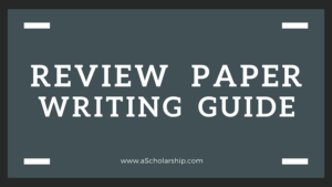 Review Paper How to Write a Literature Review