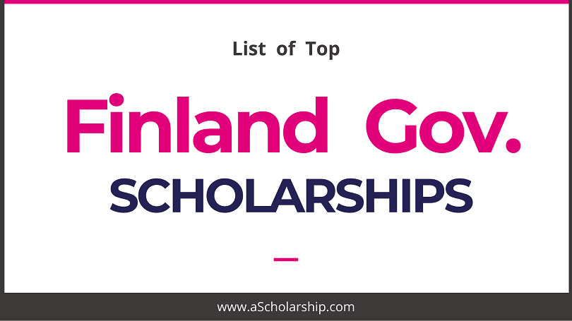 Finland Scholarships List of all Finland Scholarships for international Students