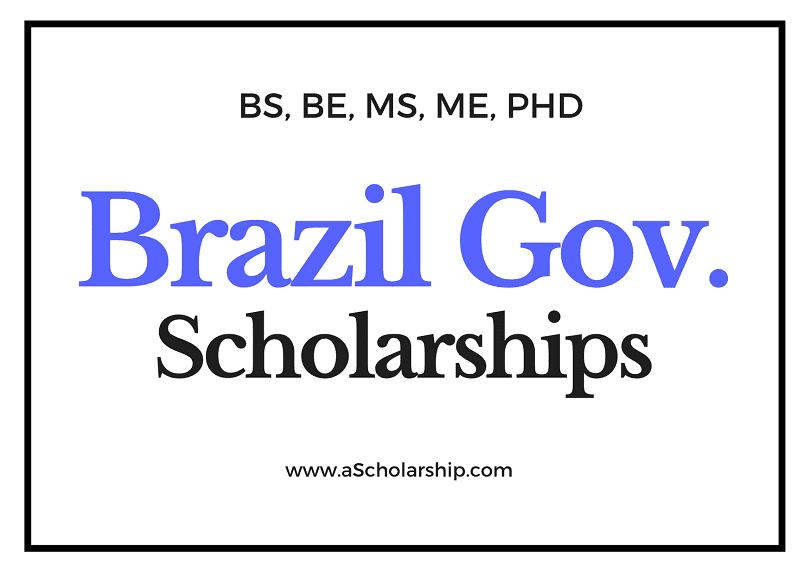 Brazil Scholarships List of Top Scholarships in Brazil