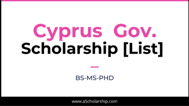 Cyprus Scholarships List of Top Scholarships in Cyprus