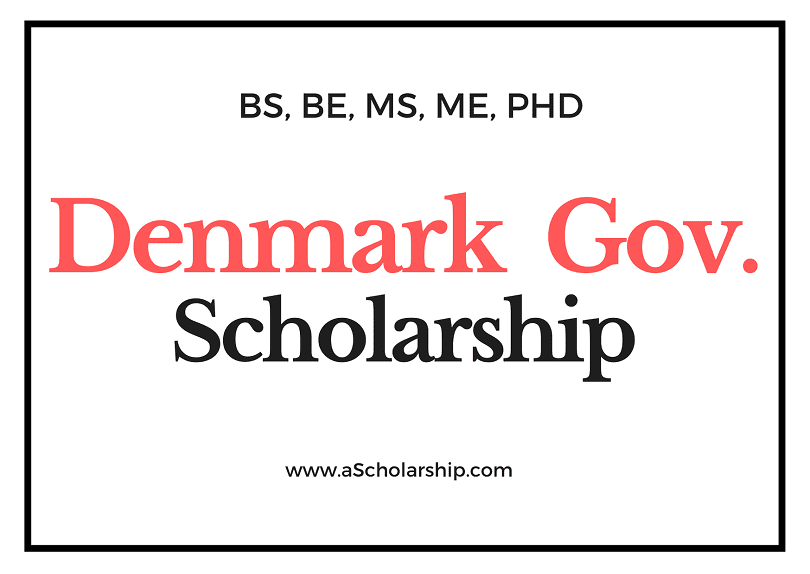 Denmark Scholarships List of Scholarships in Denmark