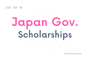 List of Top 5 Scholarships in Japan Japanese Scholarships