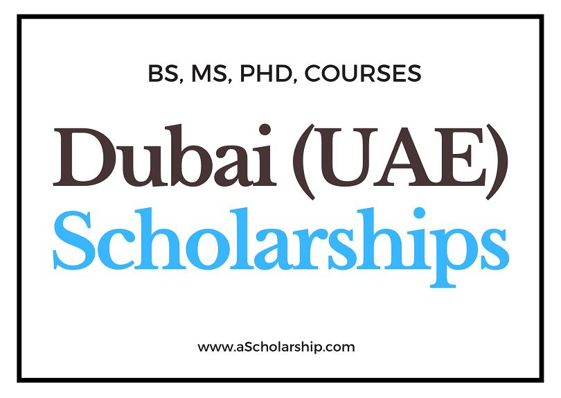 UAE Scholarships List of Scholarships in United Arab Emirates (UAE) for Students