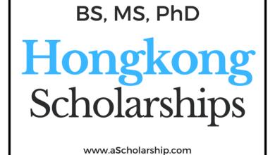 Hongkong Scholarships List of all Scholarships in Hongkong - BS MS Phd Scholarships