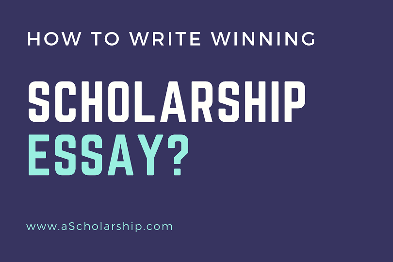 12 Tips for Writing a Winning Scholarship Essay Write an Essay like a Pro