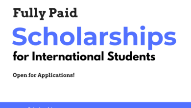 Top 10 Scholarships for International Students Open for Applications