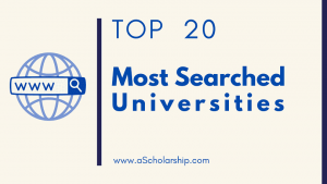 Most Searched Universities on Google Globally