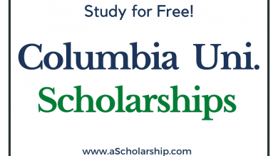 Columbia University scholarships 2022-2023 Submit Application