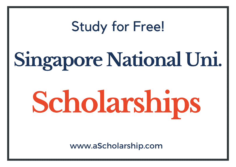 National University Of Singapore scholarships 2022-2023 Submit Application