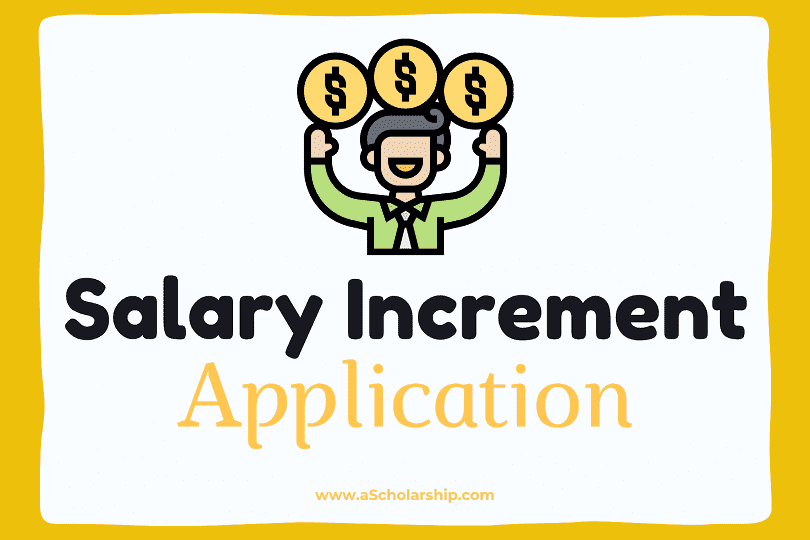 Application for Salary Increment Samples, Format and Templates with Ultimate Guide of Writing