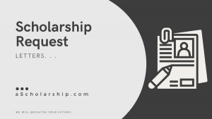 Application to Request Scholarship Funding Specimen, Samples, Templates