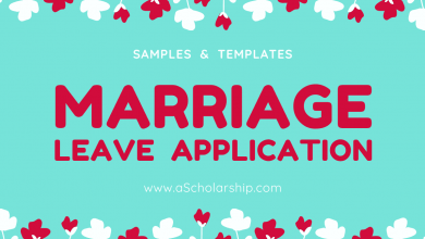 Leave Application for Attending a Wedding Ceremony [SamplesTemplates Doc file]