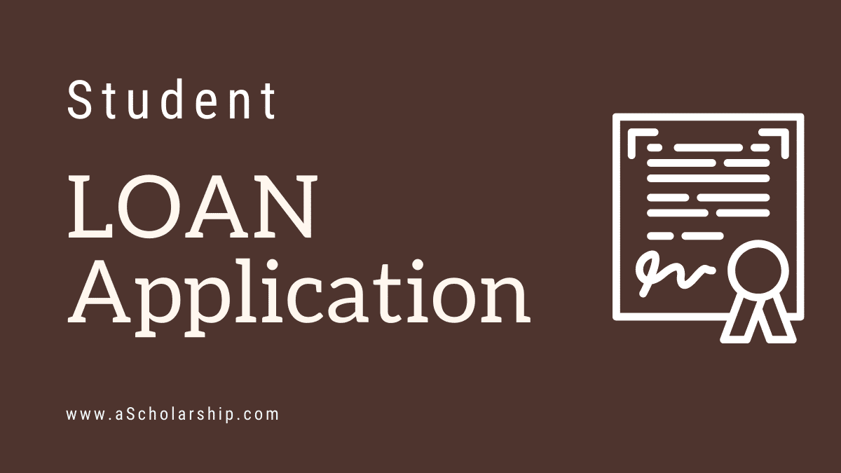 Student Loan Application Samples, and Template