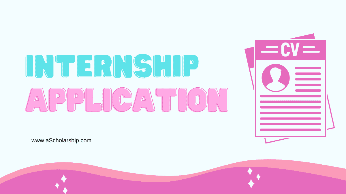 Submit an Application for Summer Internship