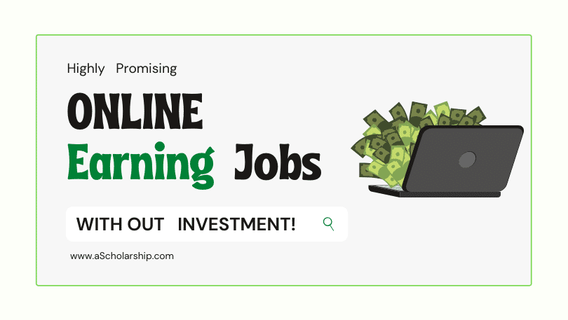 Guide to Online Earning Jobs Without Investment