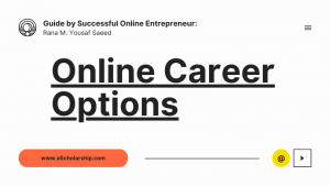 Work from Home Opportunities in 2021-2022 Online Earning Guide by Successful Online Entrepreneur Yousaf Saeed